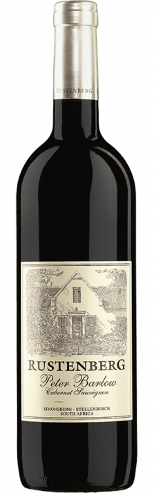2015 Peter Barlow Cabernet Sauvignon Simonsberg-Stellenbosch WO Rustenberg Wines 750.00