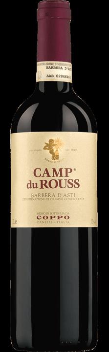 2018 Camp du Rouss Barbera d'Asti DOCG Coppo 750.00