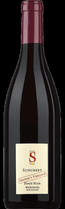 2017 Pinot Noir Marion's Vineyard Wairarapa Schubert Wines (Bio) 750.00
