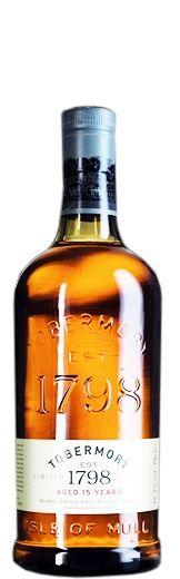 Whisky Tobermory 15 Years Single Isle of Mull Malt 700.00