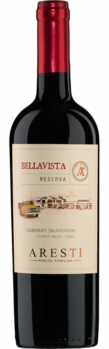 2016 Cabernet Sauvignon Reserva Bellavista Valle de Curicó Aresti 750.00