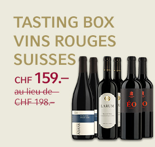 Tasting Box vins rouges suisses