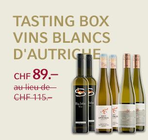Tasting Box vins blancs d'Autriche