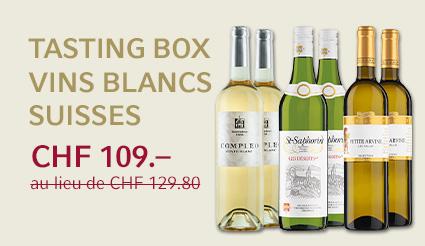 Tasting Box vins blancs suisses