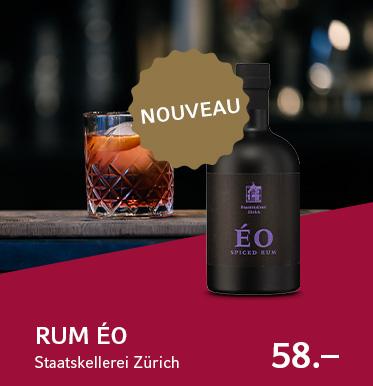 Rum ÉO, Staatskellerei Zürich