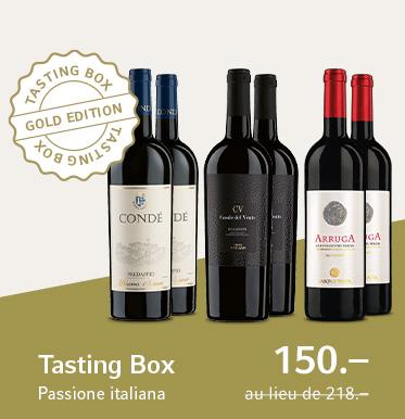 Tasting Box Passione Italiana Gold Edition