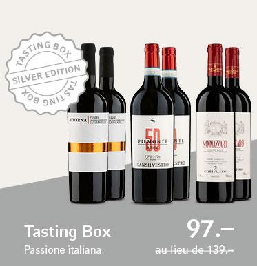 Tasting Box Passione italiana Silver Edition