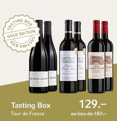 Tasting Box Tour de France Gold Edition