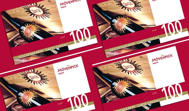Geschenkkarte im Wert von CHF 100
