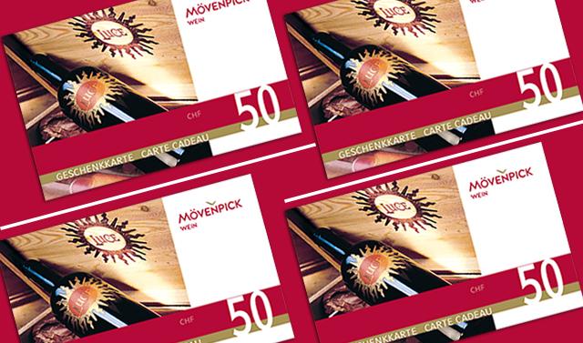 Geschenkkarte: CHF 50