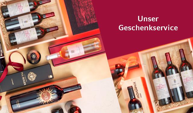 Mövenpick Wein Geschenkservice