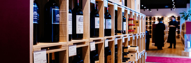 Mövenpick Weinkeller in der Schweiz